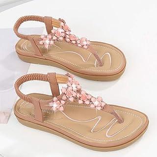 XL_nsxiezi Sandalias de Mujer Wedge Comfort Zapatillas