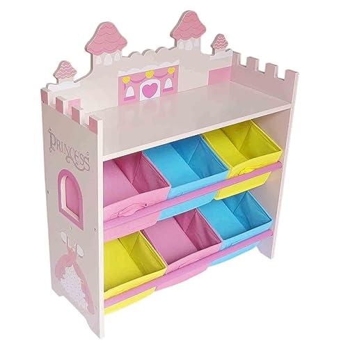 9 Cube Kids Pink White Toy Games Storage Unit Girls Boys: Children's Storage Unit: Amazon.co.uk