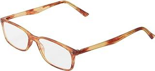 Scojo New York Gels Manhattan Reading Glasses, Matte Havana, 1.75 Magnification