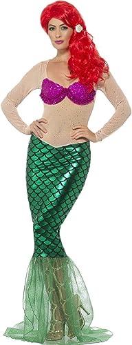 Amakando DéguiseHommest sirène - M (FR 40 42)   Costume de Sirène   Costume Ariel Conte de fées   Robe Ondine voiturenaval