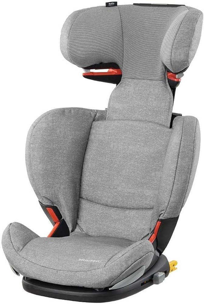 Bébé confort rodifix airprotect seggiolino auto per bambini dai 3.5 ai 12 anni,reclinabile, isofix, nomad grey 8824712210