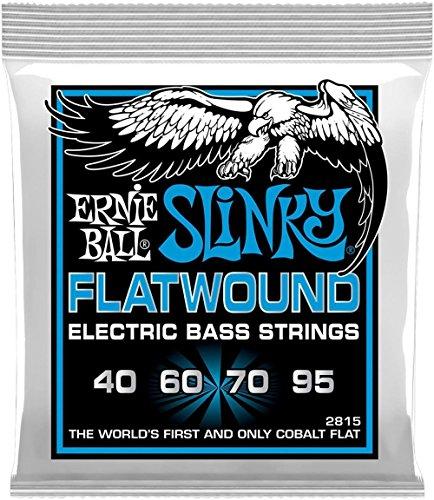 Ernie Ball Extra Slinky Flatwound Bass String, .040 - .095