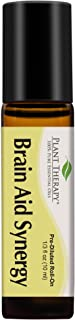 Plant Therapy Essential Oils Brain Aid Synergy - Focus & Attention Blend 100% Pure, Pre-Diluted, Natural Aromatherapy, The...