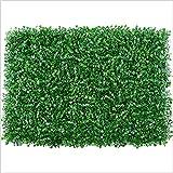 ROYAL STAR TY Paneles Artificiales de Boxwood, Planta de Cobertura Topiary, 24'x16 Pantalla de Cobertura de privacidad UV protegida para al Aire Libre de jardín Interior. by