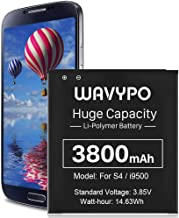 [3800mAh] Galaxy S4 Battery, Upgraded High Capacity Replacement Battery for Samsung Galaxy S4 EB-B600BE,AT&T I337,Verizon ...