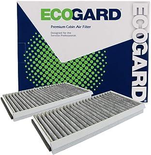 ECOGARD XC26078C Premium Cabin Air Filter with Activated Carbon Odor Eliminator Fits BMW 530i 2004-2007, 525i 2004-2007, 528i 2008-2010, 535i 2008-2010, 650i 2006-2010, 530xi 2006-2007