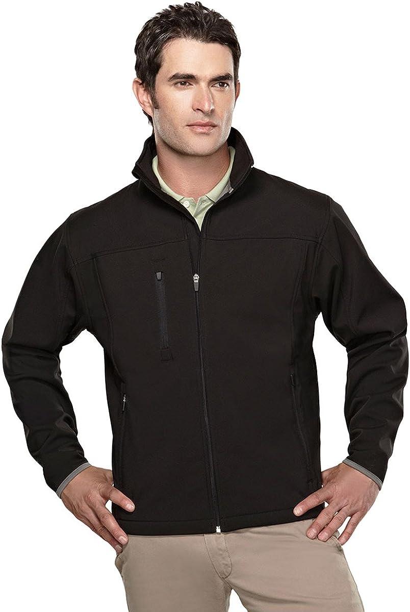 Tri-Mountain Men's Water Resistant Stretch-Fit Flight Jacket