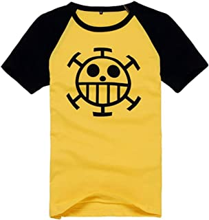 One Piece Anime Trafalgar Law Short Sleeve T-Shirt Cosplay Costume