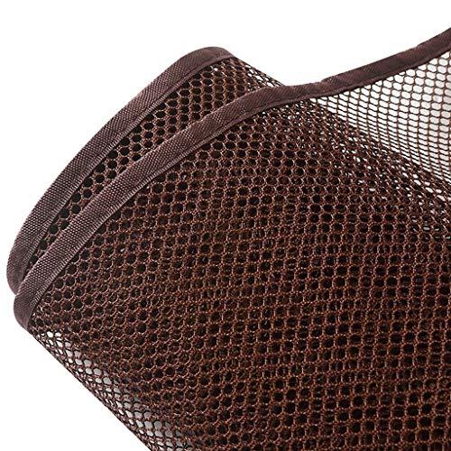 LGLFDJ Mehrzweck-Katzensicherheiten-Anti-Fall-Netz, Kindersicherheit Handlauf Treppen, Kinder Balkon Zaun, Kind Fallen Net, Indoor und Outdoor Sicherheit (Farbe: Braun) (größe: 3 Mt * 77 cm)