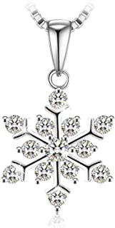 Swarovski Elements Crystal 925 Sterling Silver Pendant Necklace for Female Women Ladies Girls Gift JRosee Jewelry JR941