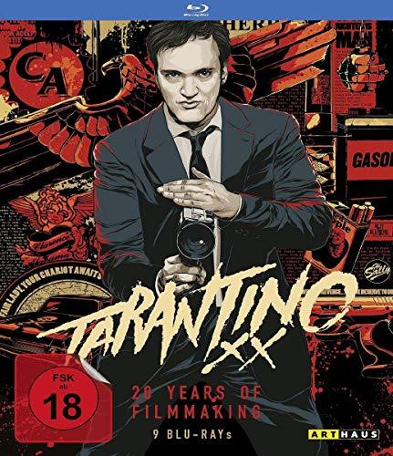 Tarantino XX: 20 Years of Filmmaking (Reservoir Dogs/True Romance/Pulp Fiction/Jackie Brown/Kill Bill, Vol. 1/Kill Bill, Vol.2/Death Proof/Inglorious Basterds) [9 Blu-rays]
