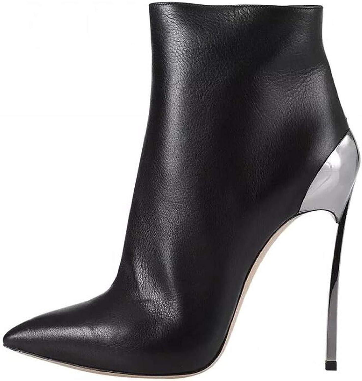 Jag är bra på dig 2018 Autumn Autumn Autumn Steels High klackar 12cm Stilettos skor for kvinna Ankle stövlar Kvinnliga skor  stödja grossistförsäljning