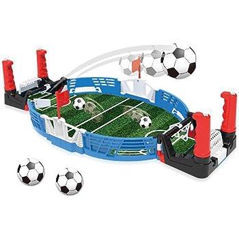 WXXW Futbolín De Mesa Juego Mesa De Fútbol Madera 69x37x24cm para Niño 3 Años y Adultos Sala De Juegos Interior y Exterior, Regalos Navideños, Manos De Entrenamiento ...