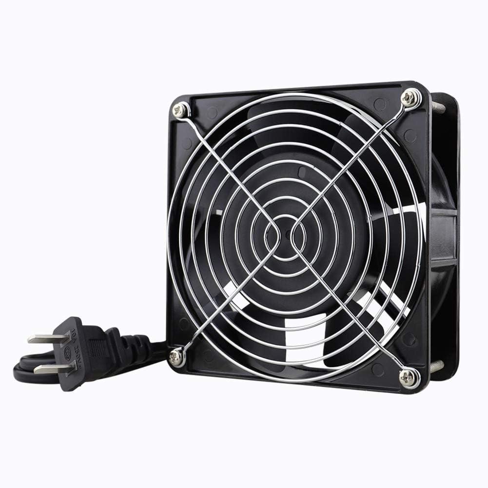 Wathai AC 12038 120mm x 38mm 110V 120V Dual Ball Metal Cooling Axial Fan High Airflow