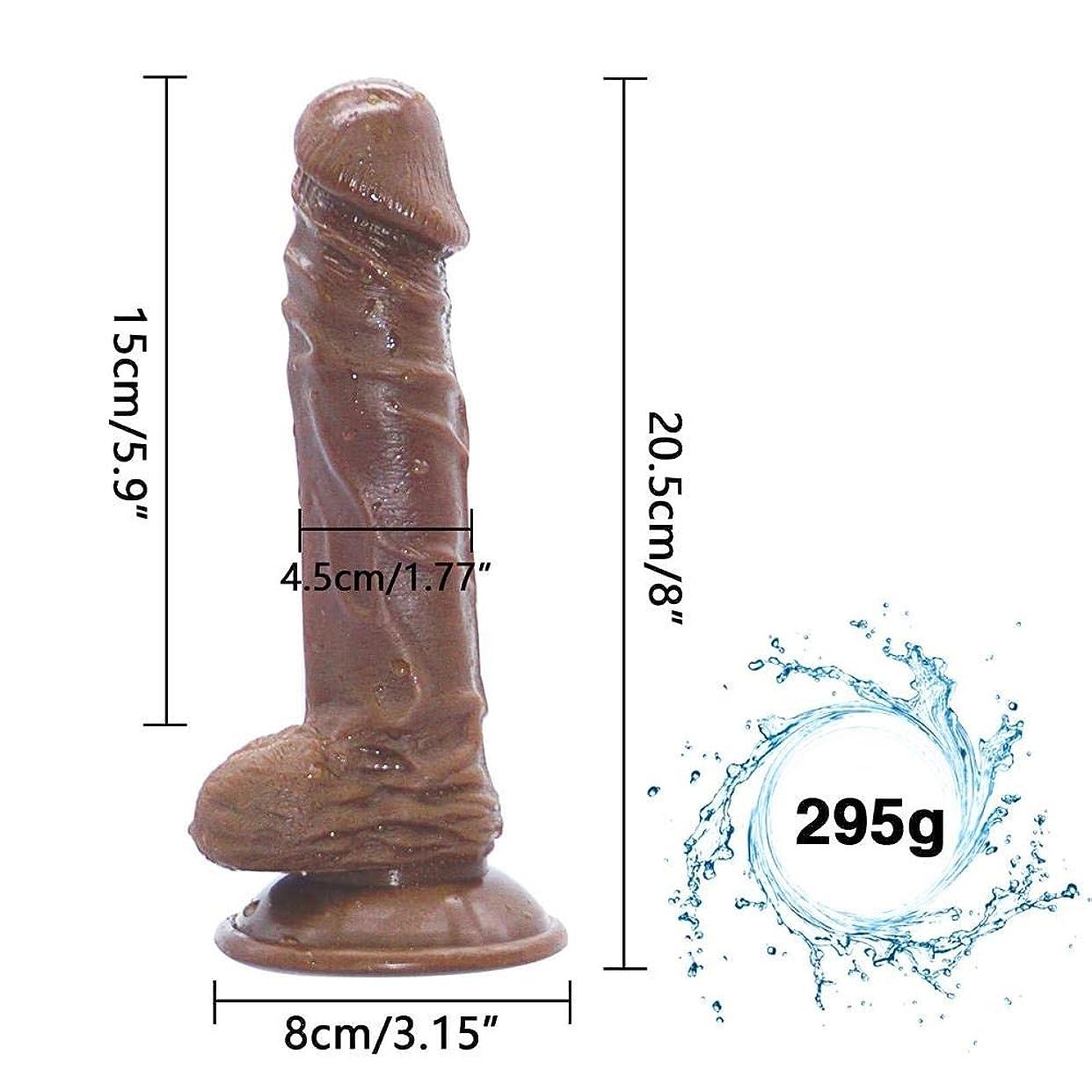主マウント省SUON 女性のカップルのためのリアルな8インチの強力な6おもちゃ