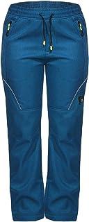 ZARMEXX Pantalones térmicos para niños y niñas, para trekking, otoño e invierno, pantalones de esquí y senderismo