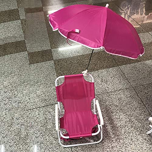 EODPOT Kinder Strandkorb, interessanter Stuhl mit Sonnenschirm, Sitz Bequemes kleines (Kindertagsgeschenk)-Fluorescentred