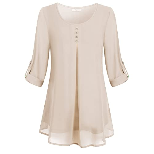 Women S Dressy Blouses Amazon Com