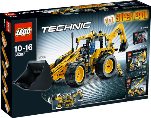 LEGO Technic 66397 - 4in1 Super Pack 8069+8067+8065+8047
