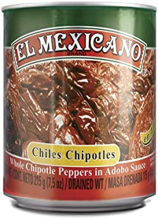 El Mexicano Jalapeños & Peppers (Chipotle Peppers, 7.5oz)(Single)