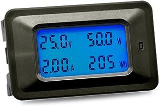Tidyard Multi-functional 100V 20A LCD Backlight Display Digital Meter Voltage/Current/Power/Energy Tester Monitor Multi-me...