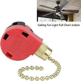 ZE 268s1 Ceiling Fan Switch Zing Ear 268s6 3 Speed 4 Wire Pull Chain Switch For Hunter Ceiling Fan Switch