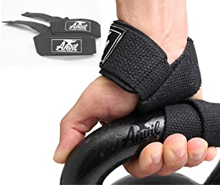 Anvil Fitness The Last Pair of Lifting Straps You'll Ever Need - Guaranteed. Instantly Lift More Weight and Build More Muscle Neoprene Padded Weightlifting Wrist Straps.