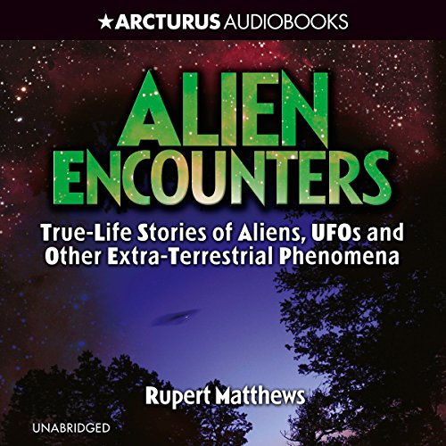 Alien Encounters audiobook cover art