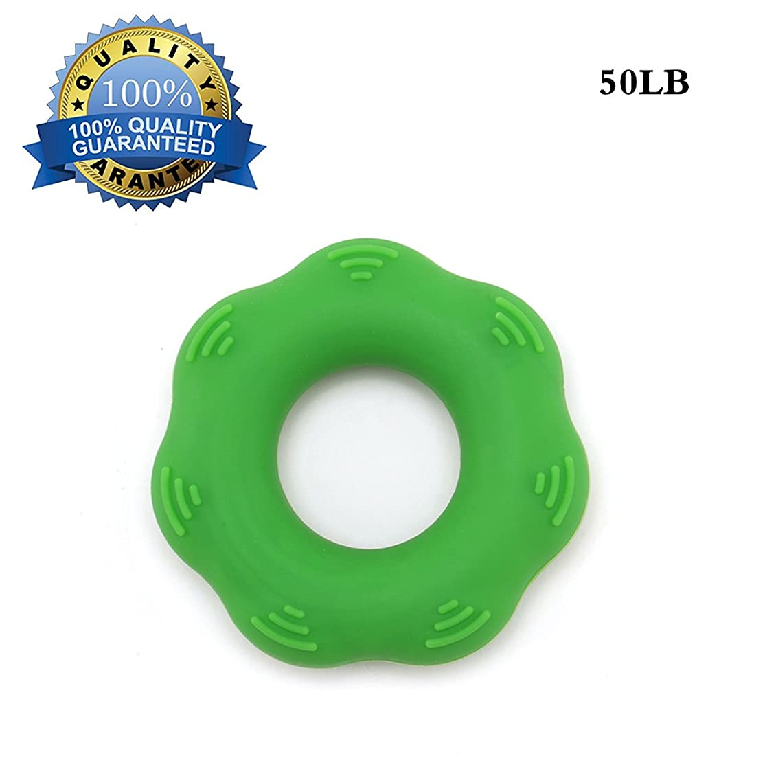 プロット下向き経過Quner 指トレーニング リングエクササイズ 筋トレ指の強化 手の機能回復 全6色 シリコン製 リハビリ用品 ストレス解消