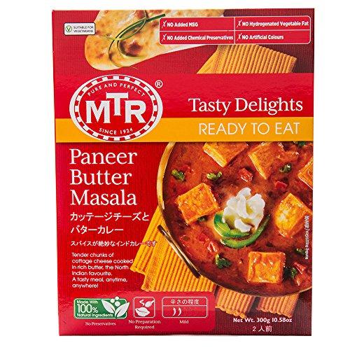 MTR パニールバターマサラ Paneer Butter Masala 300g × 20個 (1ケース)
