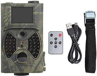 WANGMEILING Camara de Caza Panel de cámaras de vigilancia del Rastro de la Caza de la cámara HC300M / 12MP HC300A visión Nocturna 1080P Salvajes Video 7V batería Solar de energía