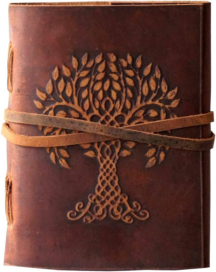 Tree Limited price sale of Life Embossed Leather Organizer National products Personal Off Journal and