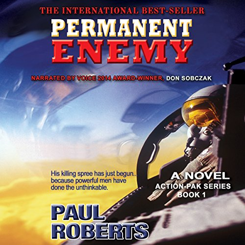 Permanent Enemy audiobook cover art