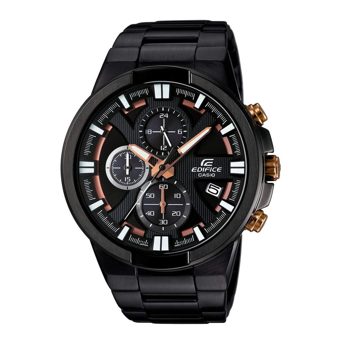Casio Edifice Chronograph Black Dial Men's Watch - EFR-544BK-1A9VUDF (EX230)