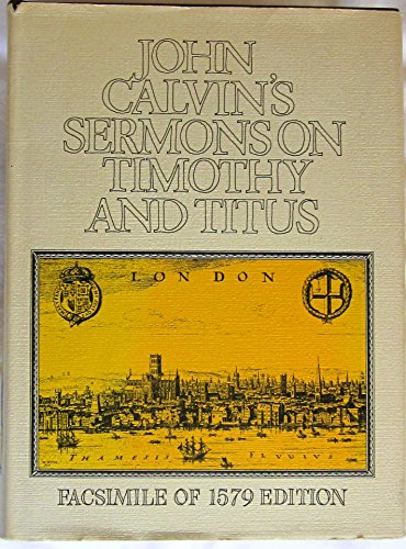 Download Sermons on Timothy and Titus (16th-17th century facsimile editions) 0851513743