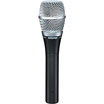 Shure SM86-LC Cardioid Condenser Vocal Microphone,Black