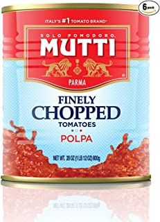 Mutti — 28 oz. 6 Pack of Finely Chopped Tomatoes from Italy's #1 Tomato Brand. Adds..