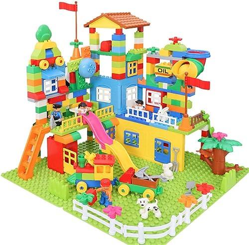 punto de venta barato AUMING Juguetes Rompecabezas Los Bloques de construcción construcción construcción para Niños desarrollan Juegos mentales para Niños, niñas, Niños, Regalo de cumpleaños (tamaño   113pcs)  toma