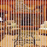 Yosoo - 10 m Rollo de Cuentas DIY de Cortina mosquitera para Puerta. Panel de separación decoración para Puerta de Entrada, Puerta Interior y Exterior, Ventana