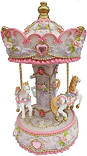 Musicbox Kingdom Carousel Turns to The Melody Carousel Waltz Decorative Item