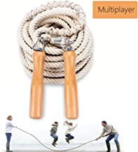 Leadfan Double Dutch Jump Ropes Long Jump Rope for Game/Skipping Rope Multiplayer Group -16ft-22.9ft-32ft-49ft-for School, Company, Fun Games,Agility Play