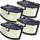 Smart brightness modes-Aootek New Upgraded Solar Lights Review