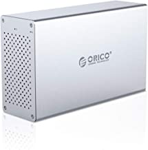 ORICO 2 Bay Hard Drive Enclosure 3.5inch USB3.0 to SATA...