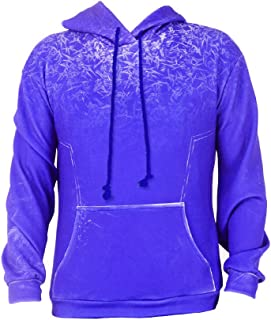 Men's Jack Frost Hoodie Cosplay Costume Outfit Blue