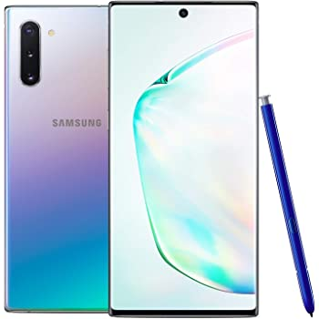 Samsung Galaxy Note 10, 256GB, Aura Glow - Fully Unlocked (Renewed)
