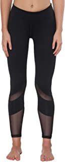 FEIVO Yoga Pants, Women's Power Flex Yoga Pants Tummy Control Workout Yoga Capris Pants Leggings