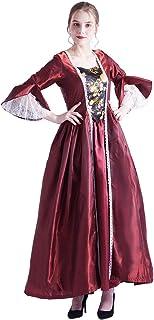 BLESSUME Rococo vestido de disfraz victoriano con antoinette de encaje para mujer