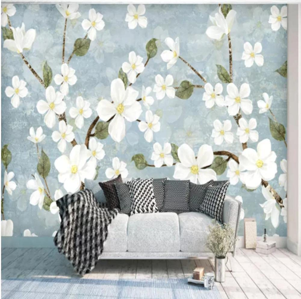 Glfeng Custom Wall Cloth Nordic Minimalist Modern OFFicial Shipping included mail order Flower M Photo