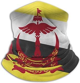 Brunei Flag Bandanas Magic Headband Face Mask For Dust, Outdoors, Festivals, Sports