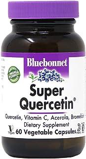 Bluebonnet Nutrition Super Quercetin Vegetable Capsules, Vitamin C Formula, Best for Seasonal & Immune Support, Non GMO, G...